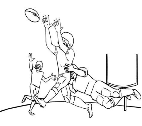 Nfl Football Coloring Pages Online | get this nfl football coloring pages online printable 13285
