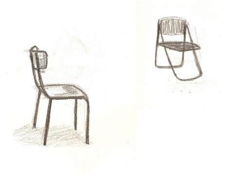 dessiner une chaise atelier volume la chaise dales marjory esaaix