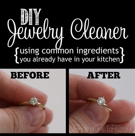 diy jewelry cleaner diy jewelry cleaner finding time to fly