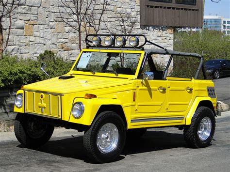 volkswagen thing yellow this yellow rx 7 rotary powered vw thing can be yours