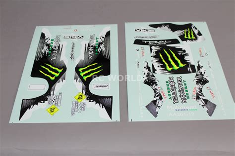 Monster Jam Aufkleber by Monster Energy Stickers For Rc Cars Rc Car Truck Racing