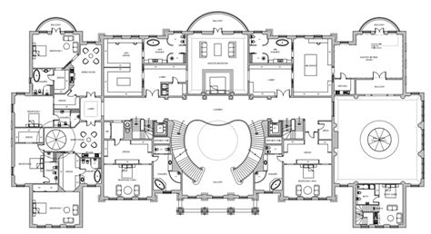 Mansion Floor Plans And Pictures