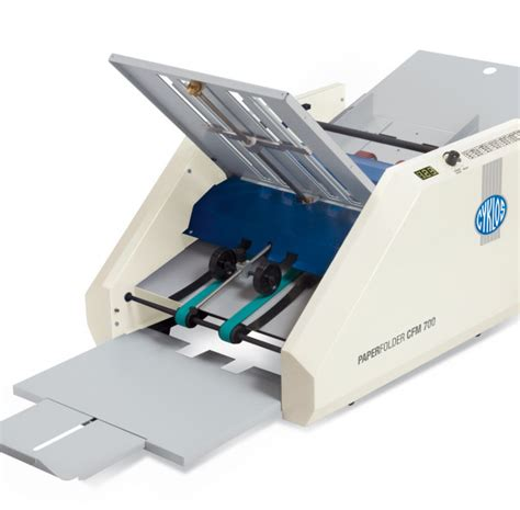 Paper Folding Machine Uk - cyklos cfm700 paper folding machine
