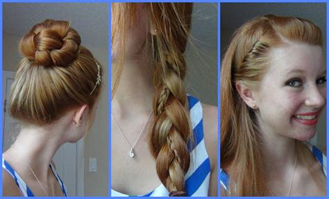 best easy and quick hairstyles 3 simple quick and easy back to school hairstyles youtube