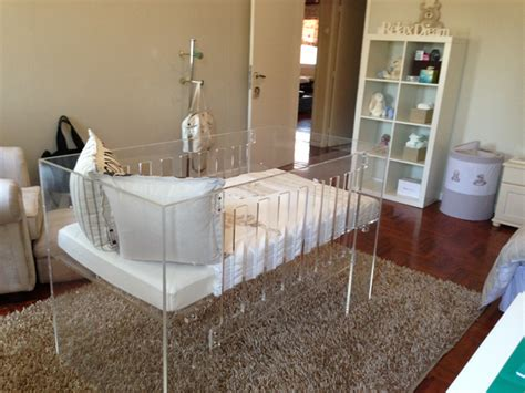 Perspex Crib by Sophisticated Custom Cot Sa D 233 Cor Design