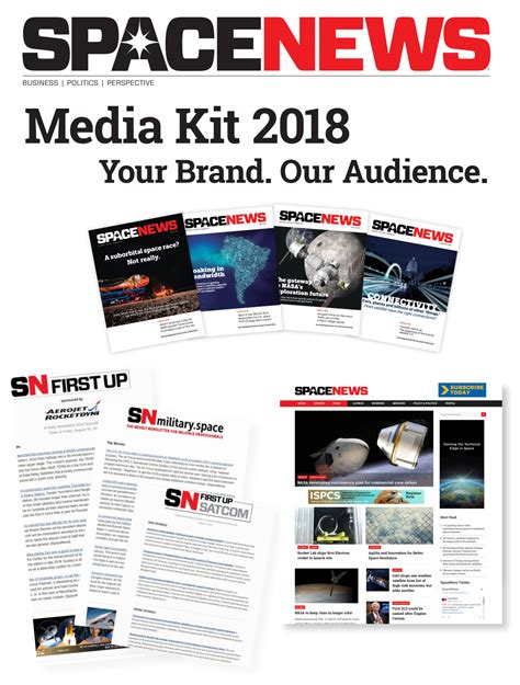 layout magazine exle departures home and design media kit spacenews media kit