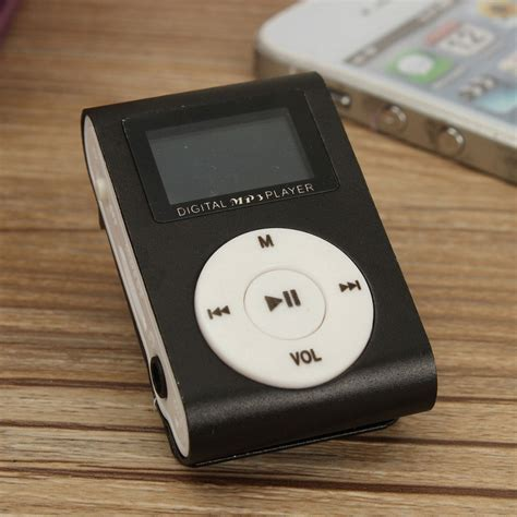 Mp3 Jepit Mini Klip mp3 player jepit murah mungil portable