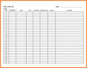 work log template doc 600730 work log template work log template 7 free