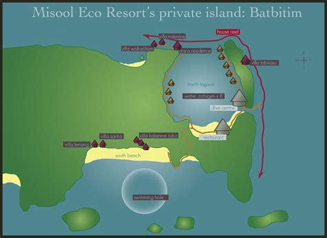 eco resort map misool eco resort in raja at indonesia scuba diving