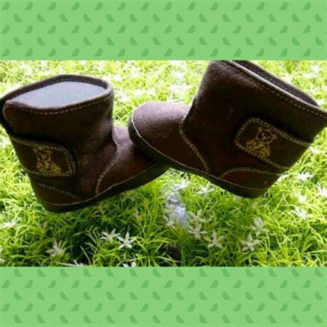 Bbb Sepatu Prewalker Bayi Boot Khaki Polos jual sepatu bayi boot mothercare prewalker baby shoes di