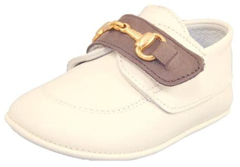 Ivory Crib Shoes by Quot De Osu Quot Do 118s Baby Boys Ivory Leather Dress Crib Shoes