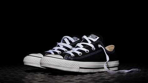Converse Chuck Low Black converse chuck all low black white the sole supplier