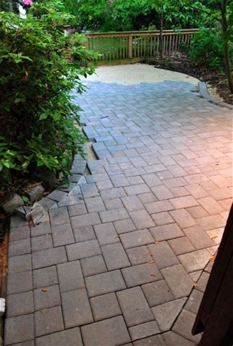 diy gravel and paver patio 1000 images about patio expansion ideas on can lights patio and furniture ideas