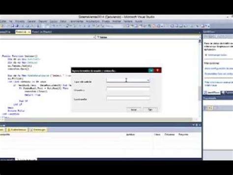 tutorial visual basic access 2010 tutorial sistema desde cero visual basic 2010 y access