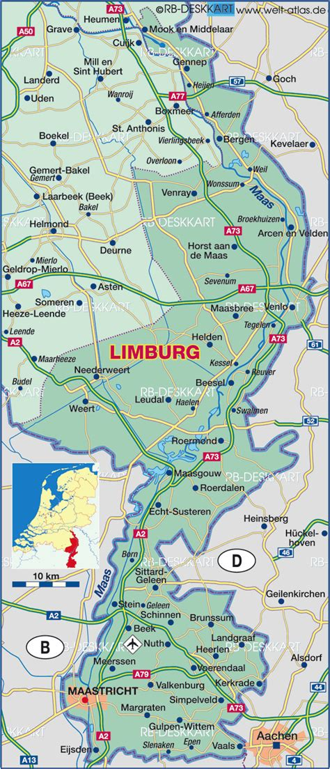 margraten netherlands map map of limburg netherlands map in the atlas of the