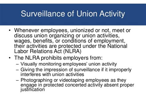 nlra section 7 protected activity workplace behavior and privacy issues employer responses