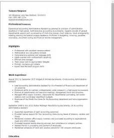 Administrative Professional Resume Sle by Description For Administrative Assistant For Resume