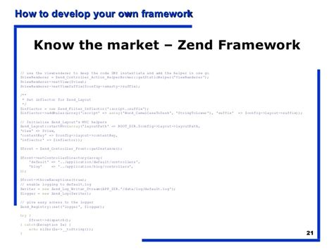 set layout zend how to learn to build your own php framework