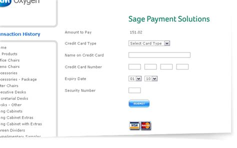 Sle Credit Card Payment Screen New View Transactions And Pay Open Invoices Via Credit Card Brookexm S