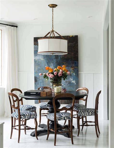 eclectic dining room designs