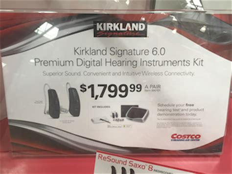 at $1,799 a pair, costco's iphone hearing aids challenge
