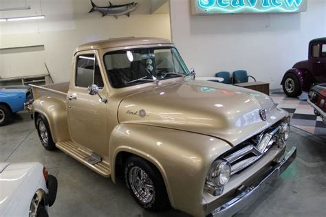 ford gold paint gotta this gold metallic paint 1955 ford f100