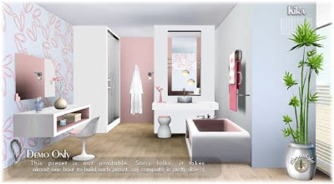 my sims 3 kika bathroom set by simcredible designs