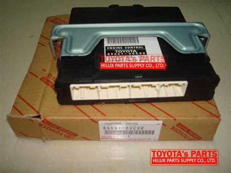 Ecu Komputer 89661 0ks11 Toyota Hilux 89661 60c00 original toyota prado trj120 engine computer ecu