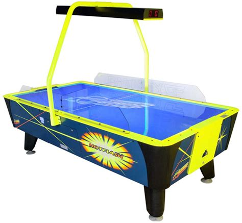 dynamo air hockey tables for sale at the shuffleboard
