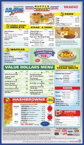 Waffle House Gift Card - waffle house menu waffle house
