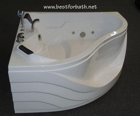 jetted corner bathtub corner jetted bathtub 2 person b248 best for bath
