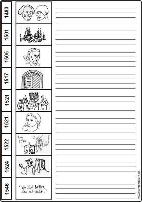 Tabellarischer Lebenslauf Martin Luther Martin Luther Zeitleiste Lebenslauf
