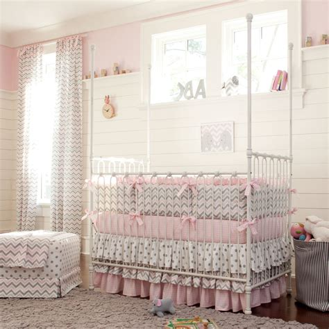 pink beige carpet and headboard skirt green beige walls atlanta bedding like urban nursery traditional with