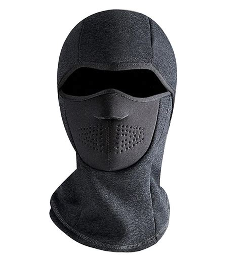 Promo Murah 4 In 1 Thermal Fleece Balaclava Masker Kupluk windproof fleece thermal motorcycle ski mask