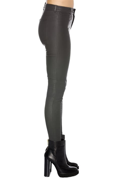 26121 Gray Stretch Leather balatt stretch leather grey 365ist