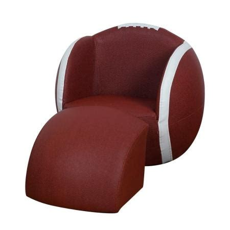 football chair and ottoman football chair baby n toddler pinterest