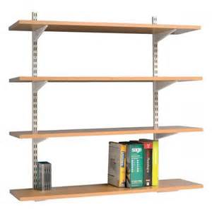 Cheap Wall Shelves Trexus Top Shelf Shelving Unit System 4 Shelves Beech