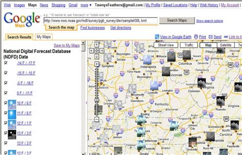 maps us states kml tutorial on using googel earth and the national digital