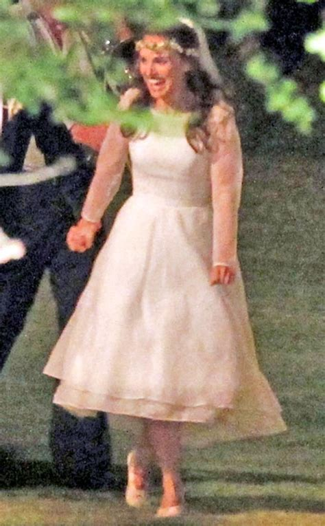 Get A Dress Like Natalie Portmans by See Natalie Portman S Wedding Dress In New Photo From Ceremony