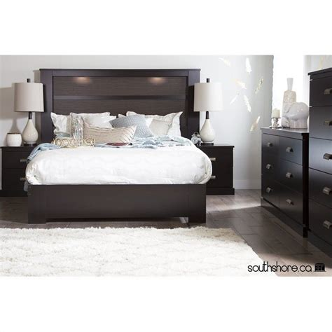 King Size Headboard With Storage And Lights by Featuring A Look With Plenty Of Chic Appeal
