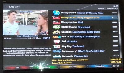 Media Player Ibox 7 N300 all new skybox cloud ibox linux enigma2 7 day epg