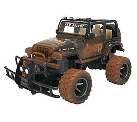 New Bright Rc Jeep Wrangler New Bright 1 15 R C Mud Slinger Jeep Wrangler Qvc