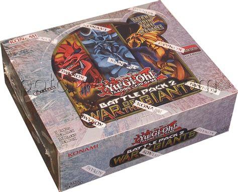 Yugioh Booster Battle Pack 2 War Of The Original yugioh yu gi oh battle pack 2 war giants booster box ebay