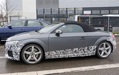 Audi Tt Facelift by 2018 Audi Tt Rs Facelift Audi Blog