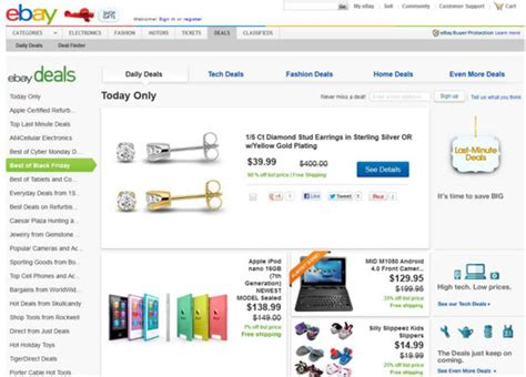 an overview of ebay home page links dummies