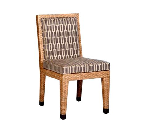 basel dining side chair wicker material indoor