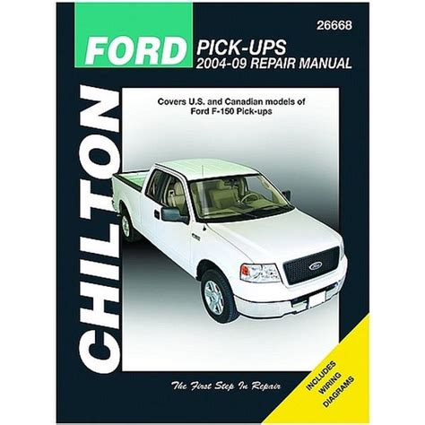 free auto repair manuals 2004 ford f150 on board diagnostic system chilton 26668 repair manual for 2004 2009 ford trucks northern auto parts