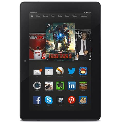 amazon fire 125 off the kindle fire hdx 8 9 quot today only ftm