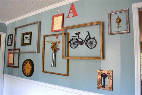 picture frame ideas with diy ideas picture frame wall clock decoration