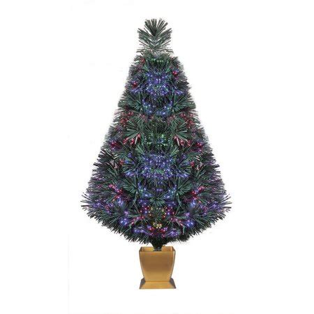 colour changing lights for christmas trees time pre lit 32 quot fiber optic artificial tree green color change lighting